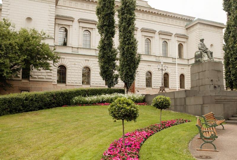 Helsinki, Finlande, ministère des finances le bâtiment image libre de droits