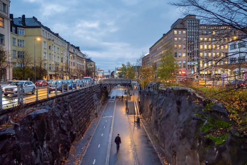Helsinki, Finlandia Ciudad escandinava imágenes de archivo libres de regalías