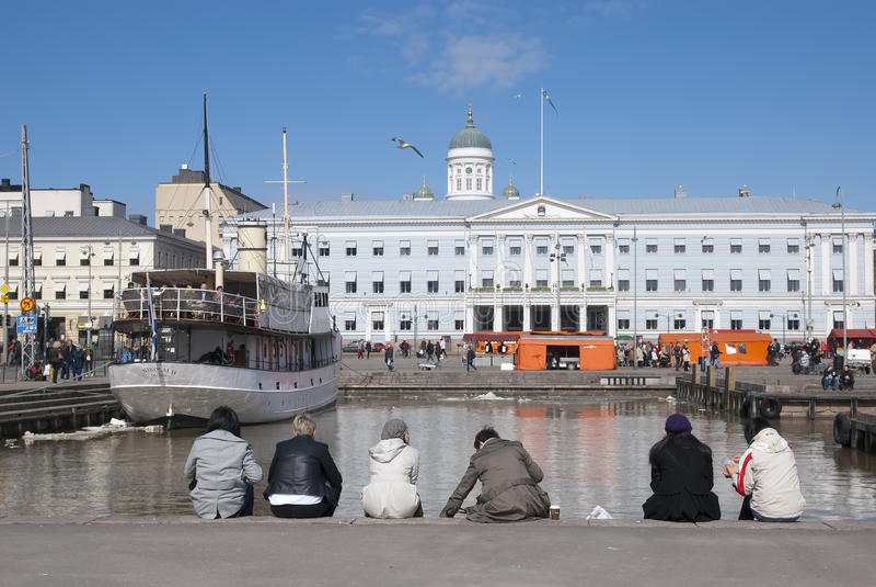 Helsinki. Finnland lizenzfreies stockbild