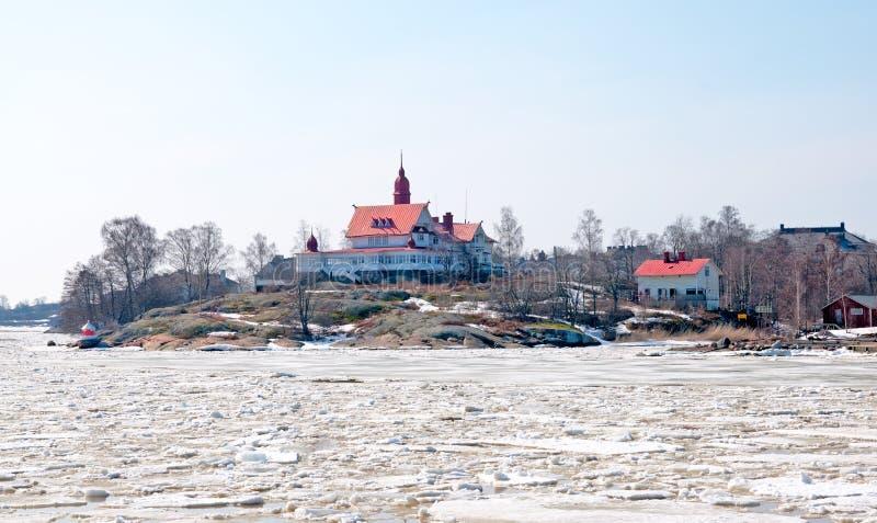 helsinki finnland Klippan-Restaurants lizenzfreies stockbild
