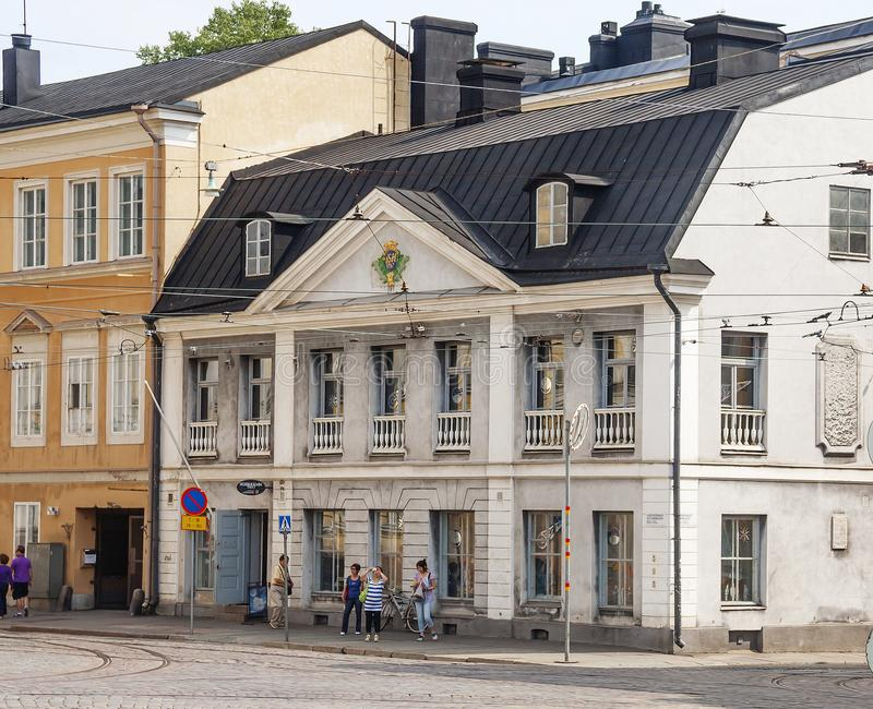 Helsinki, Finnland, Söderholm-Haus lizenzfreies stockfoto