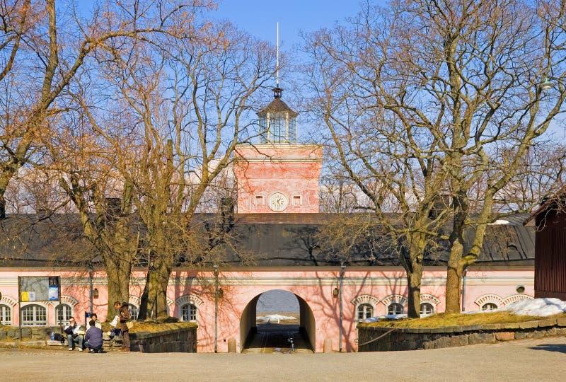 helsinki finnland Suomenlinna-Festung lizenzfreie stockfotografie