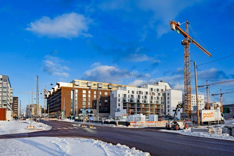 Helsinki-Gebäude und -architektur lizenzfreie stockfotografie