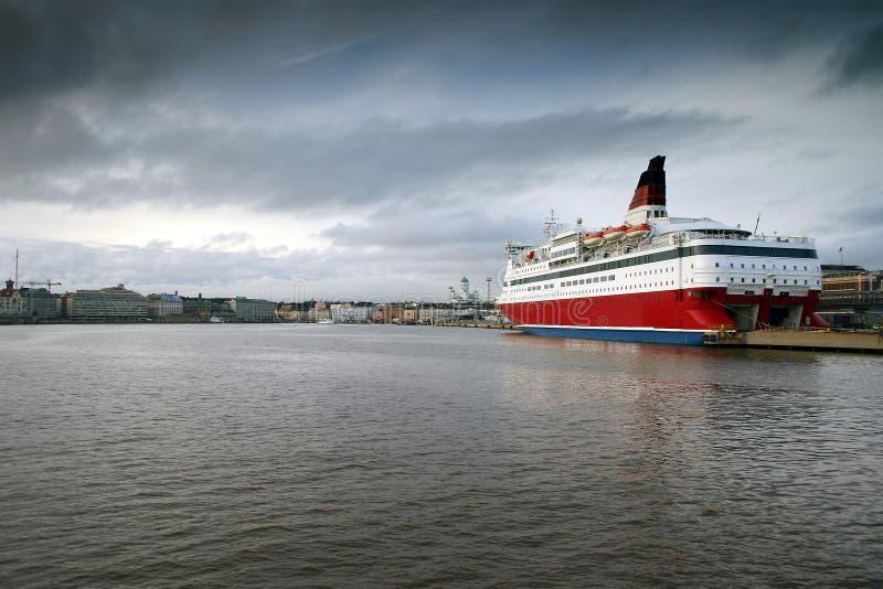 Helsinki Harbor royalty free stock photo