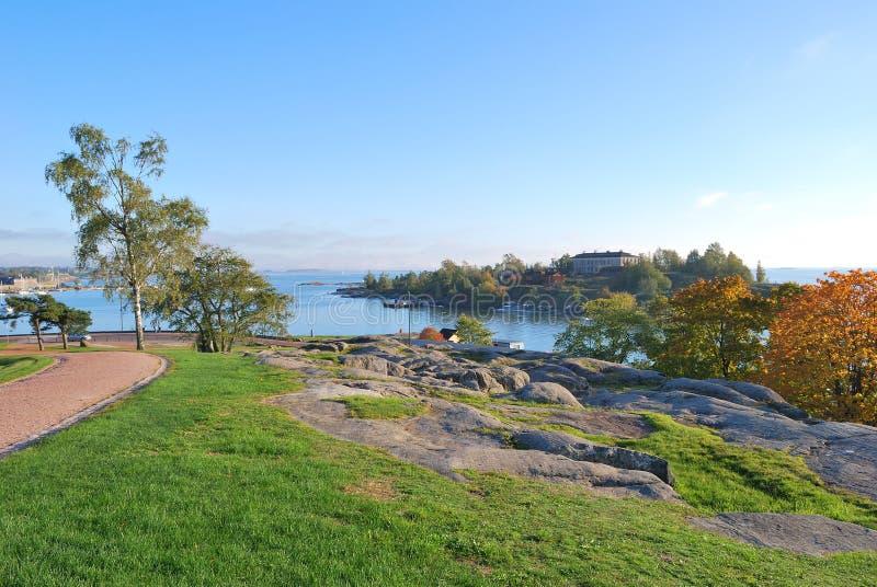 helsinki kaivopuisto park zdjęcie royalty free