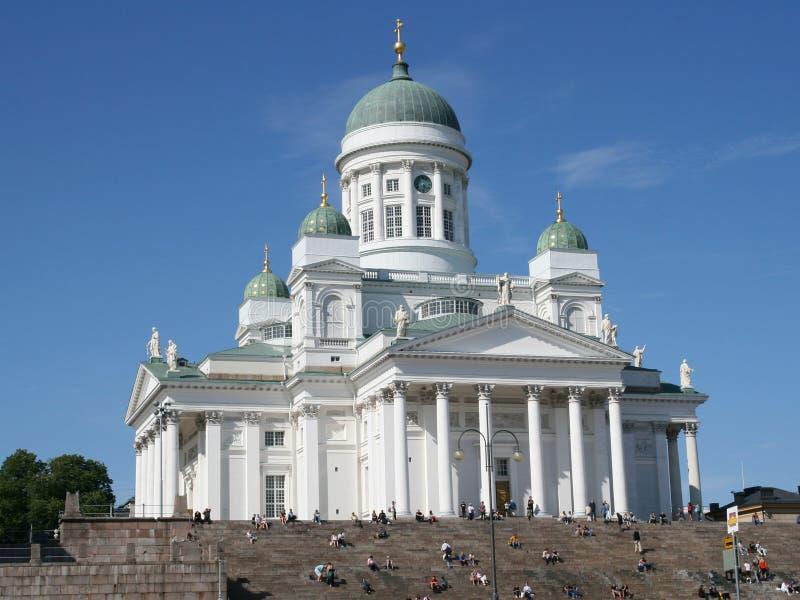 Helsinki katedralny lutheran obraz royalty free