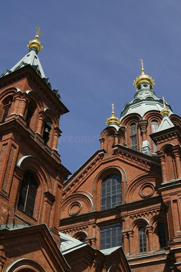 helsinki katedralny uspenski ortodoksyjny rosyjski fotografia royalty free