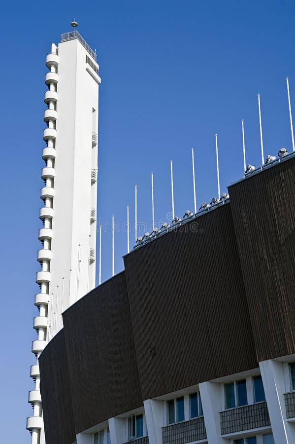 Download Helsinki olympic stadium editorial stock photo. Image of rise - 11940293
