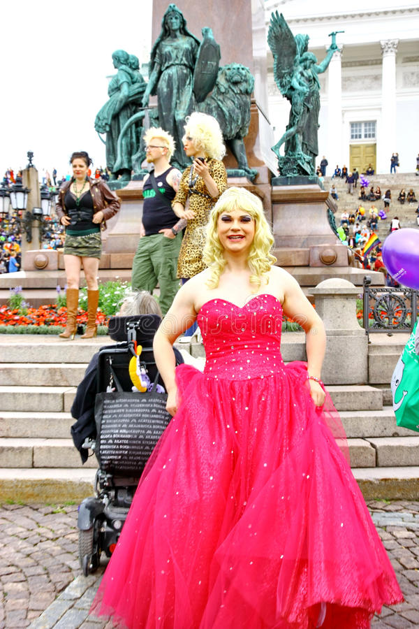 Download Helsinki Pride gay parade editorial photography. Image of love - 25655182