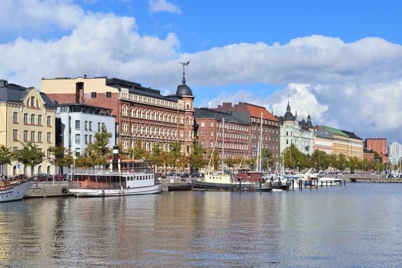 helsinki Quay del norte fotos de archivo