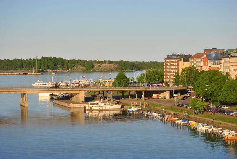 Download Helsinki river view stock photo. Image of yacht, summer - 19939242