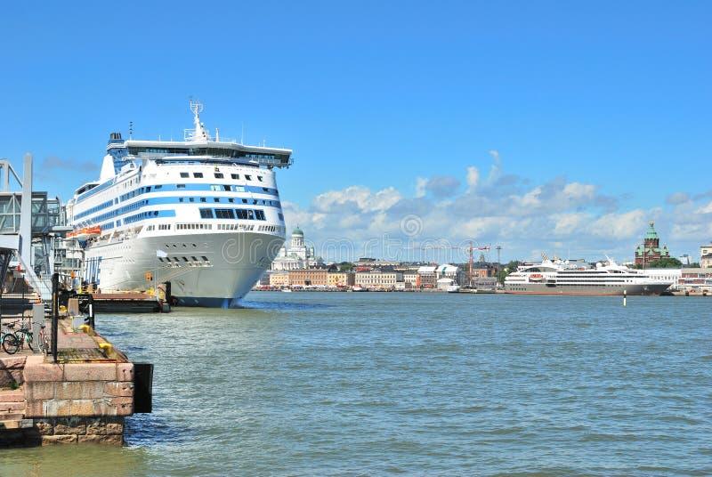 Helsinki. Südhafen lizenzfreie stockbilder