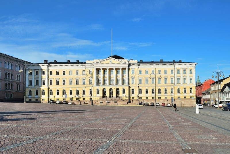 Helsinki, senado foto de archivo libre de regalías
