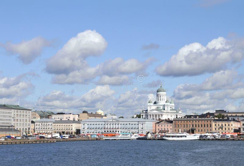 Helsinki-Skyline stockfotografie
