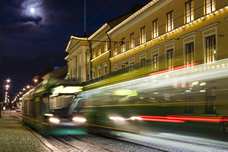 Helsinki Trams stock photos