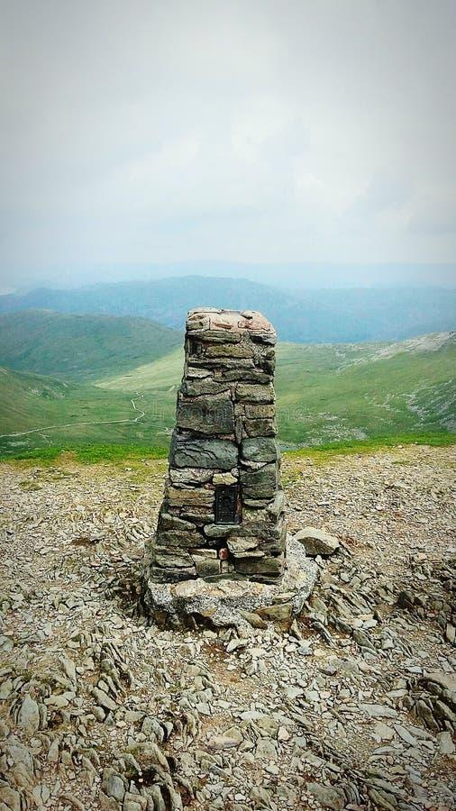 helvelyn szczyt zdjęcie royalty free