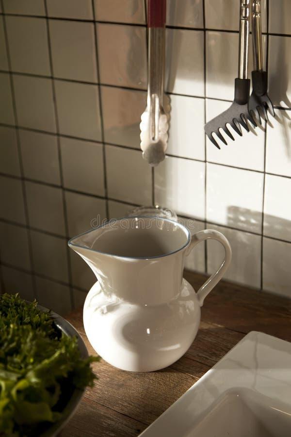 Hem- kök i vind-stilen royaltyfria bilder