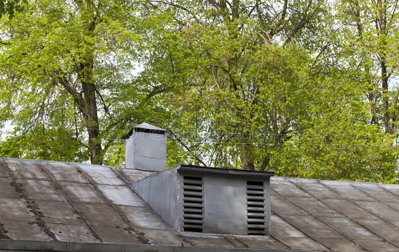 Hem- lufthålfönster royaltyfri bild