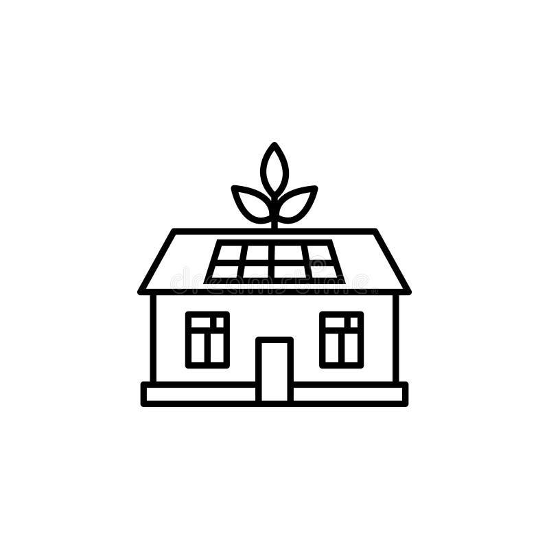 hem, radikon för hushåll Element för energiillustrationsikoner Signaler, symboler kan användas för webben, logotypen, mobilappen, vektor illustrationer