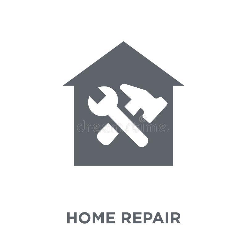Hem- reparationssymbol från konstruktionssamling vektor illustrationer