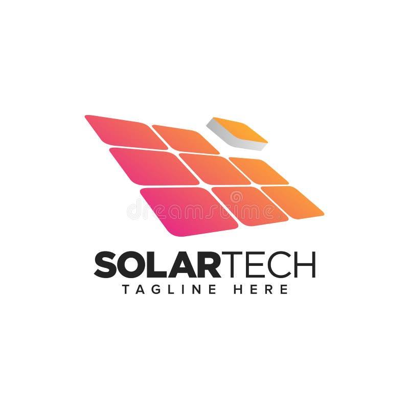 Download Hem- Solpanel, Logo För Förnybara Energikällorteknologi Vektor Illustrationer - Illustration av industriellt, cirkel: 78725231