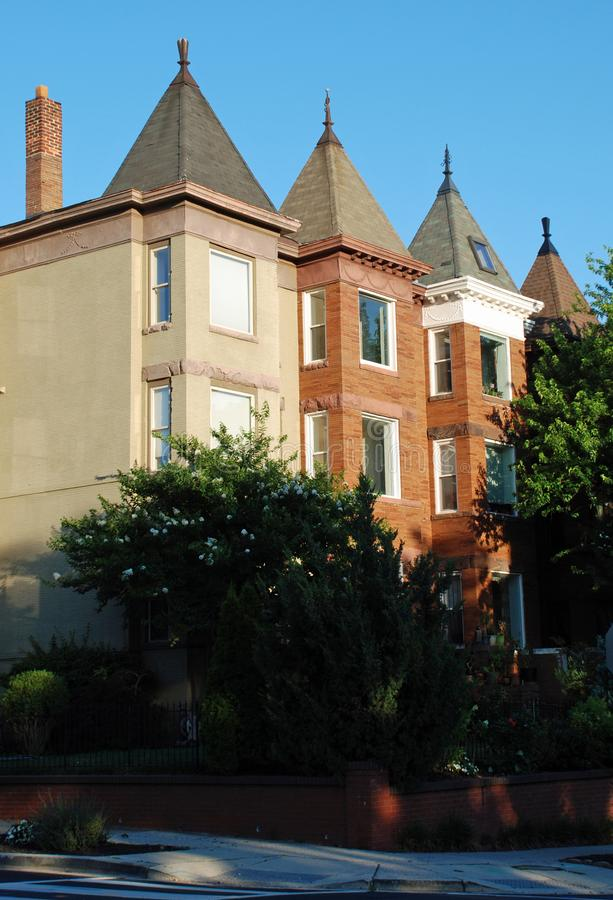 Hem- Washington DCradhus för lyx arkivbild