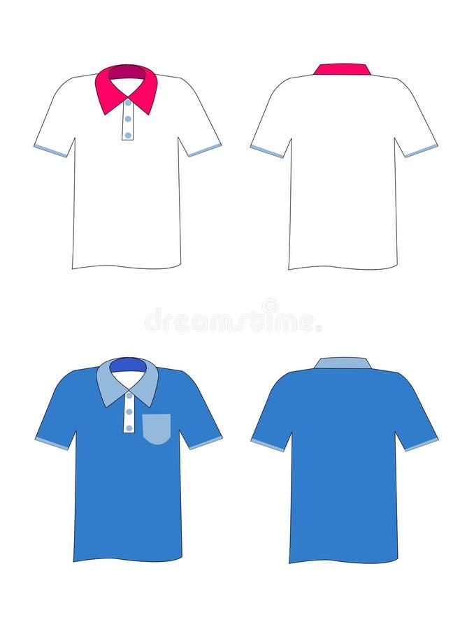 Hemden stock abbildung