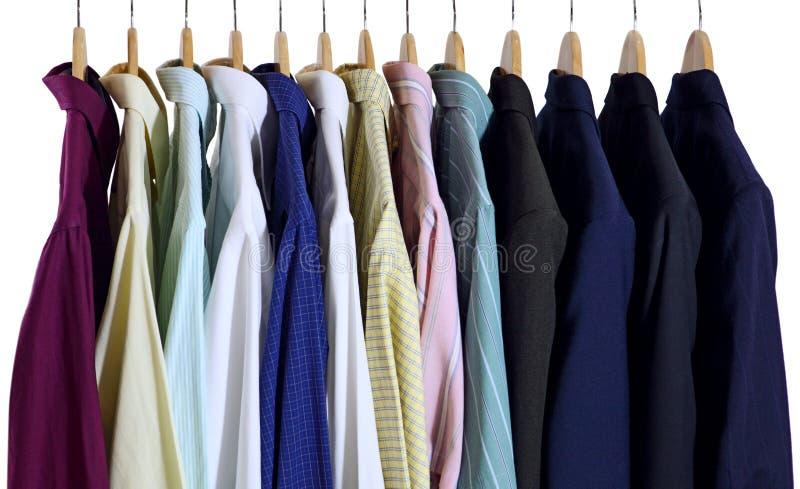 Hemden und Anzüge lizenzfreies stockfoto