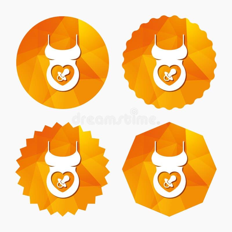 Hemdzeichenikone der schwangeren Frau Mutterschaftssymbol vektor abbildung