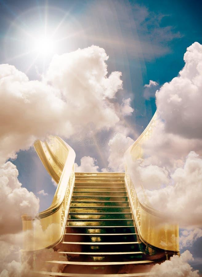 hemel stock afbeelding