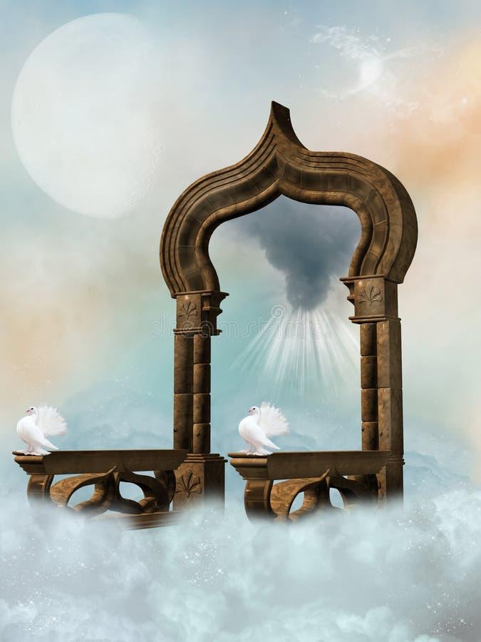 Hemel royalty-vrije illustratie