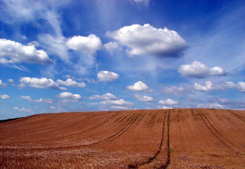 hemel + aarde stock fotografie