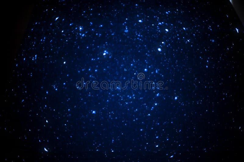 Hemel bij Nacht royalty-vrije stock foto