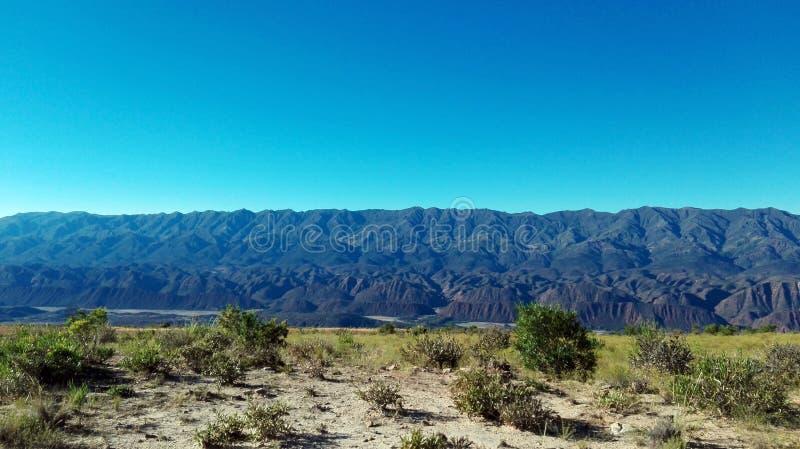 Hemel en Berg, Potosi - Bolivië stock afbeeldingen