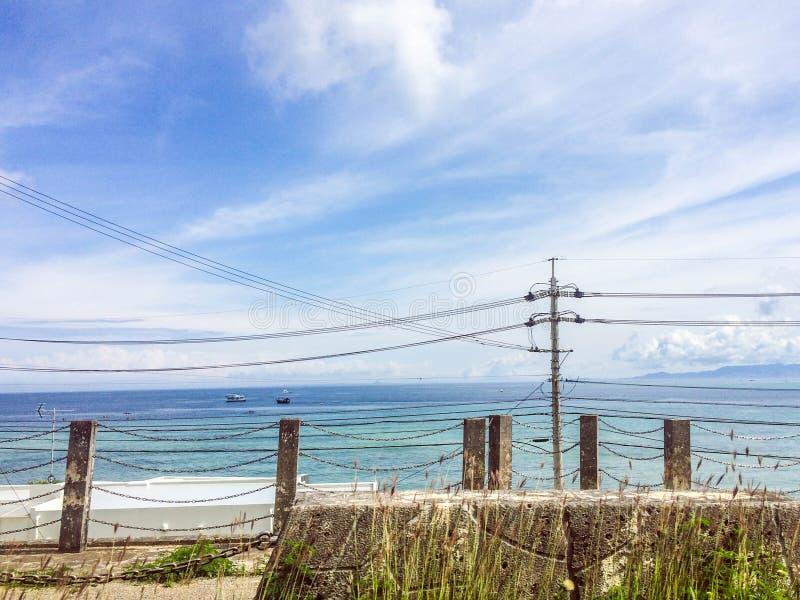 Hemel en Oceaan stock foto's