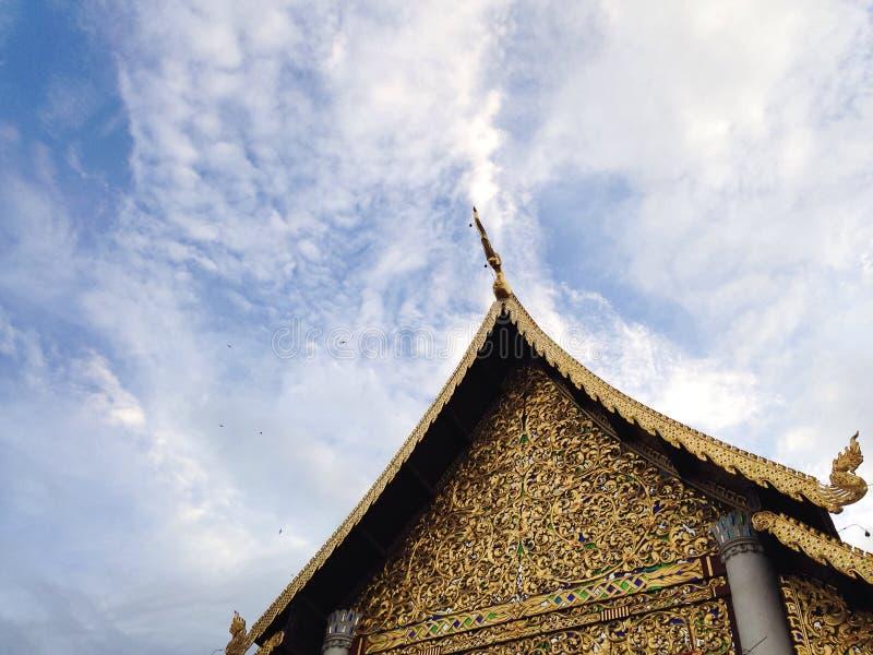 Hemel en Tempel royalty-vrije stock afbeeldingen