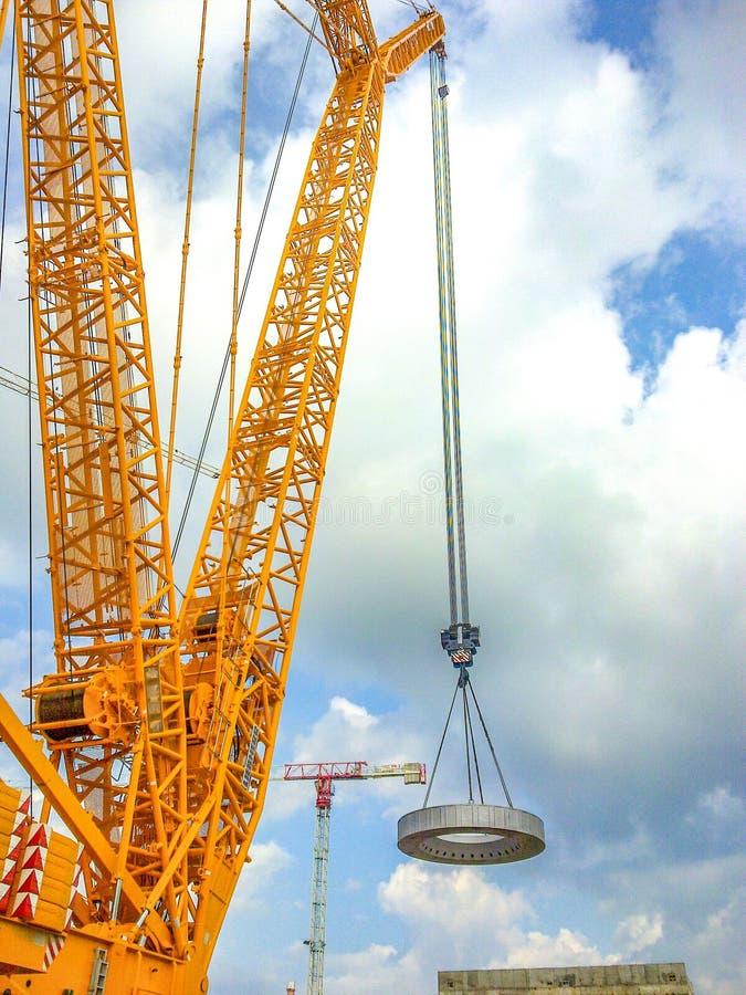 Hemel, Toeristische attractie, Kraan, Ferris Wheel stock afbeelding