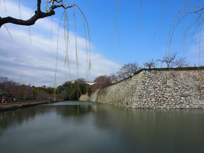 Hemelkasteel Osaka Japan Travel royalty-vrije stock afbeelding