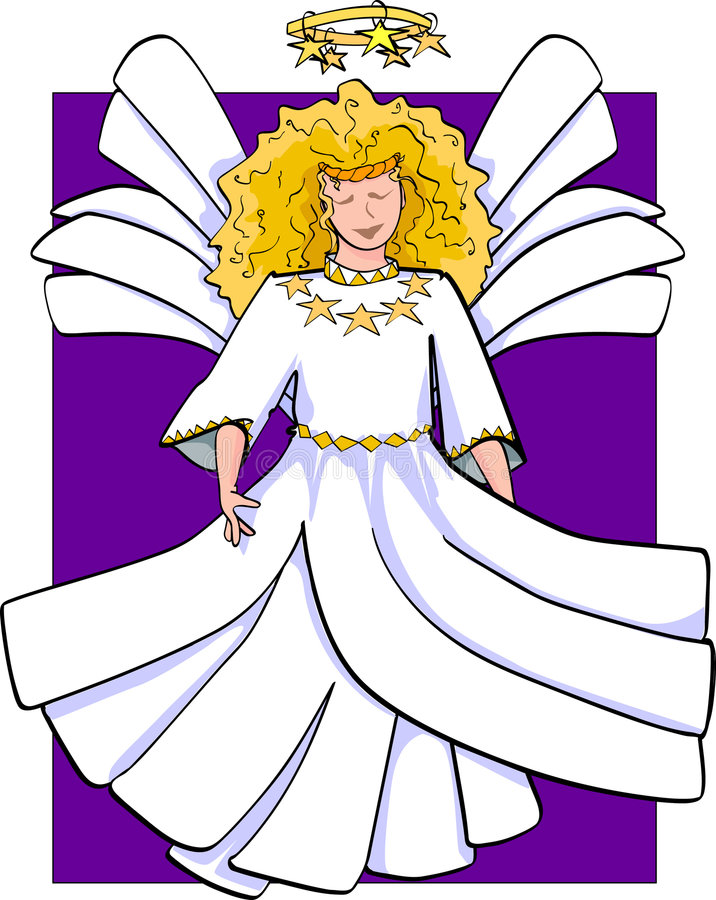 Hemelse Engel stock illustratie
