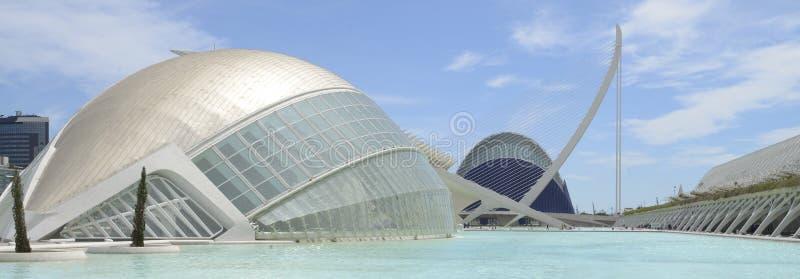 Hemesferic and Agora, Valencia stock photo