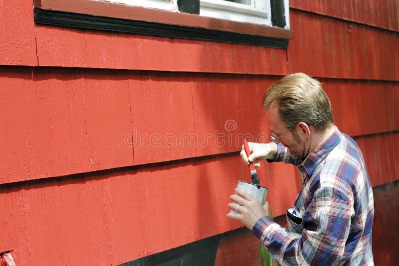 hemförbättringmålning arkivbilder
