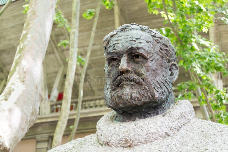 Hemingway popiersie obrazy stock