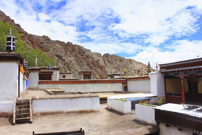 Hemis修道院,拉达克,查谟和克什米尔,印度 图库摄影