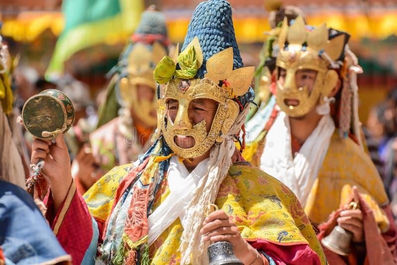 Hemis festiwal w Leh, Ladakh, India obrazy stock