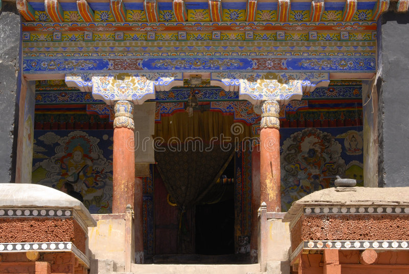 Download Hemis Gompa, Ladakh, India stock image. Image of festival - 7718701