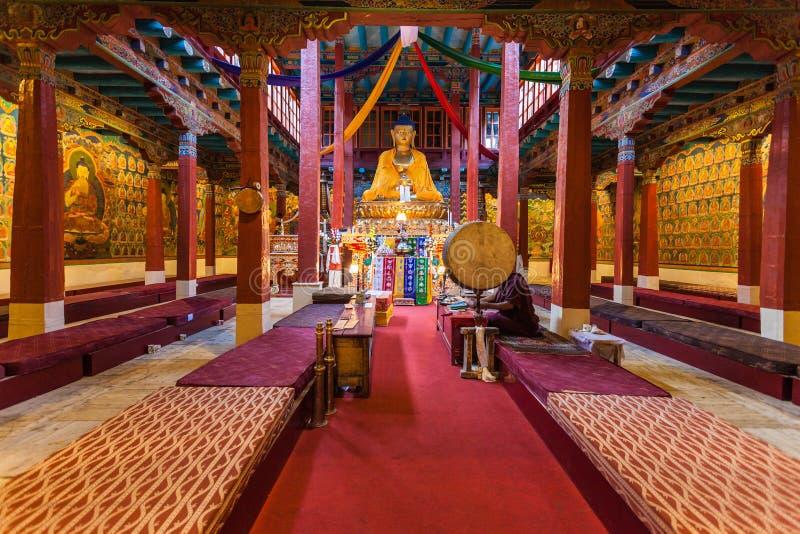 Hemis-Kloster, Ladakh lizenzfreie stockfotos
