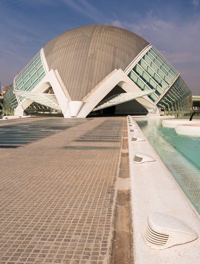Hemisferic, City of Arts and Sciences, Valencia stock photography
