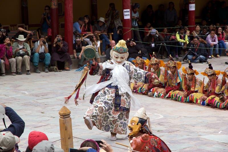 Hemisklooster, Ladakh, India stock afbeeldingen
