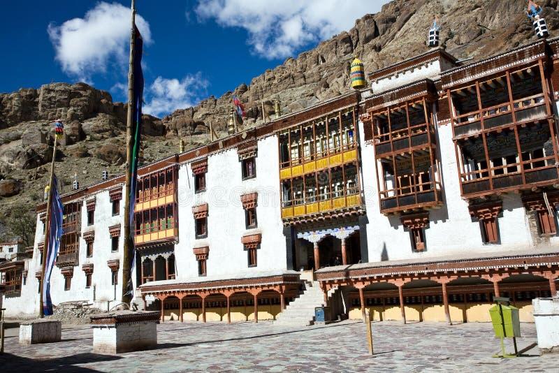 Hemisklooster, leh-Ladakh, Jammu en Kashmir, India royalty-vrije stock fotografie