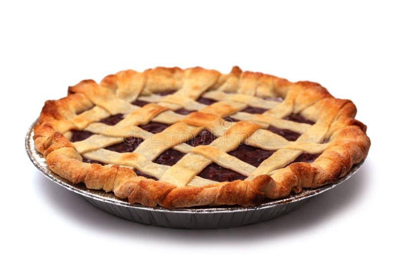 hemlagad pie för Cherry royaltyfri bild